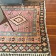 Beautiful vintage handmade Kilim rug