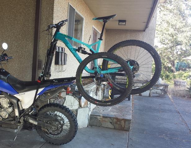 2x2 Cycle Motorcycle Bike Rack
