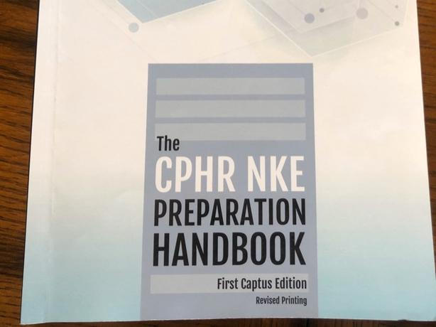 CPHR prep handbook