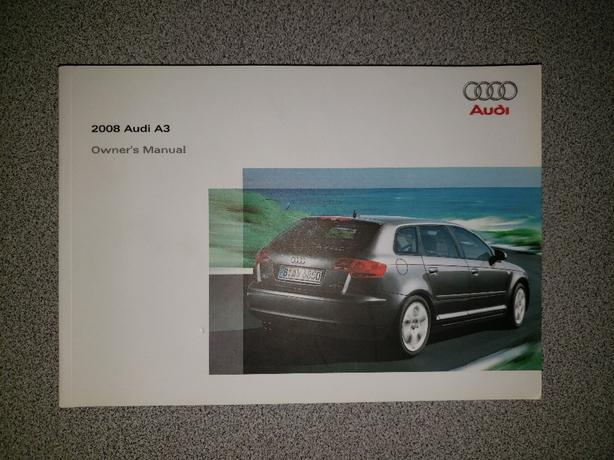 2008 Audi A3 Hatchback Owners Manual