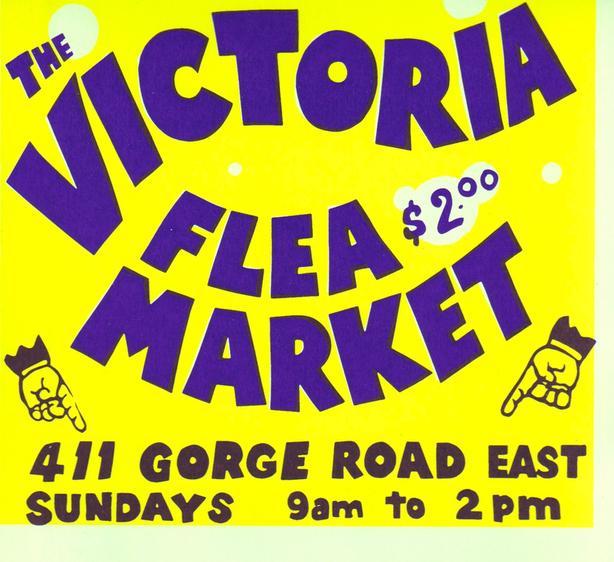 Victoria Flea Market - SUNDAYS  - 9am - 2pm to April 5th KIDS FREE