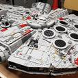 MINTY FRESH!  8000 piece Millennium Falcon UCS 75192 Lego CLONE!