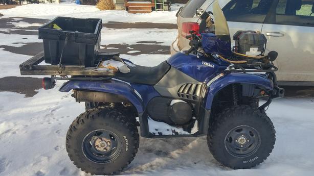 660 Yamaha Grizzly