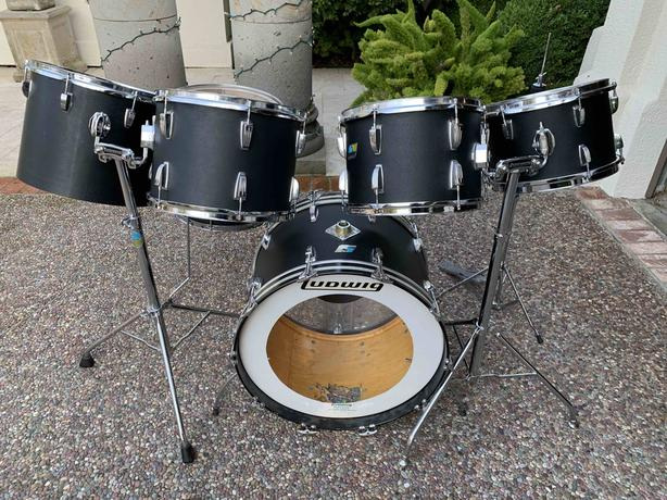 Ludwig 1970's Six Piece Shell Pack