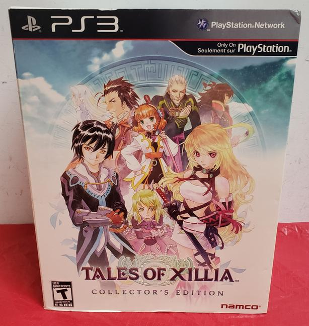 PS3 Tales of Xillia Collector's Edition