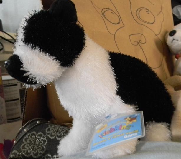 Boston Terrier Webkins