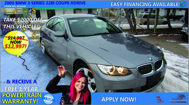 2009 BMW 3 Series 328i Coupe xDrive - Reduced Price !!