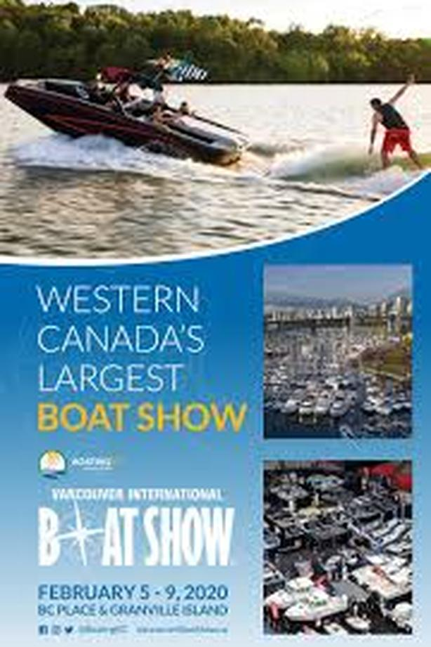 SHERWOOD MARINE AT VANCOUVER BOAT SHOW FEB. 5-9