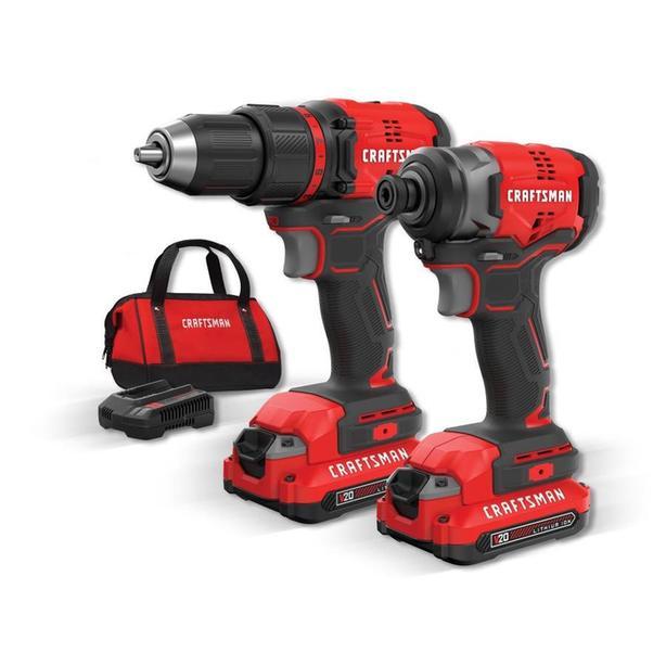 Craftsman 20V Brusheless Drill/Driver-Impact Driver Combo Kit