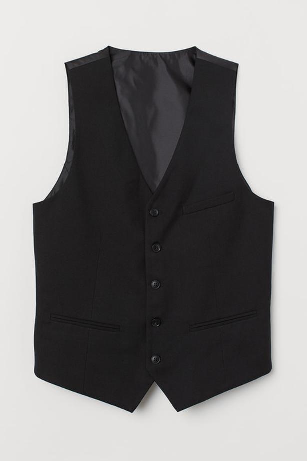"Mens ""L"" Black Vest"