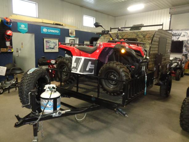 "2020 SUNSET PARK RV SUNRAY 109E SPORT 6"" Lift w/ Off Road Tires"