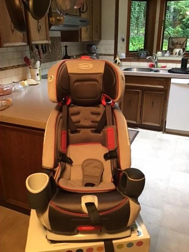 Graco nautilus child car seat