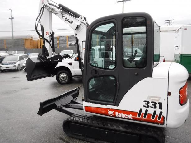 2008 Bobcat 331 Rubber Track Excavator Diesel