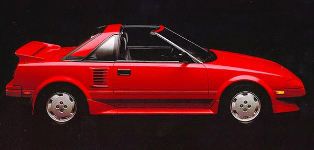 Wanted 1980's TOYOTA MR2 (First Gen)