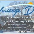 Heritage Day in St Norbert - February 1st, 2020
