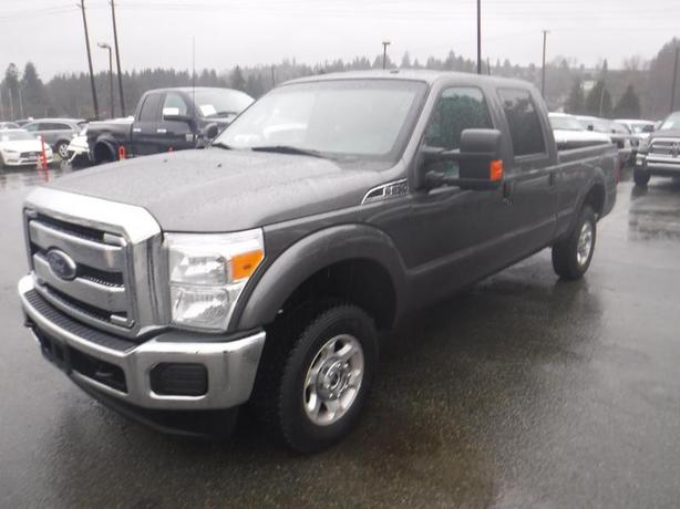 2014 Ford F-250 SD XLT Crew Cab 4WD 6.5 Foot Box