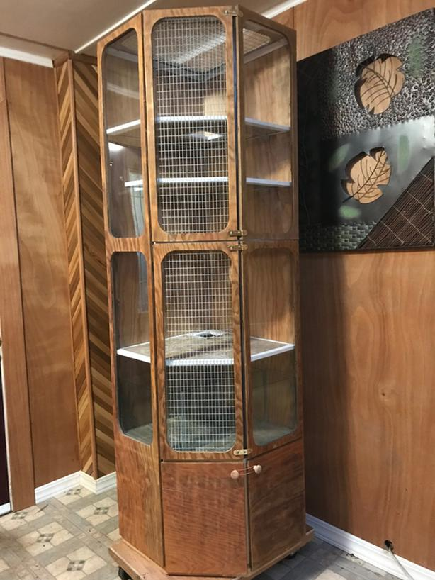 SMALL ANIMAL CAGE – Custom Built  $200 OBO