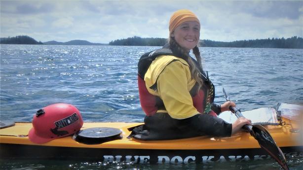 All women 5 day kayak adventure, Barkley Sound