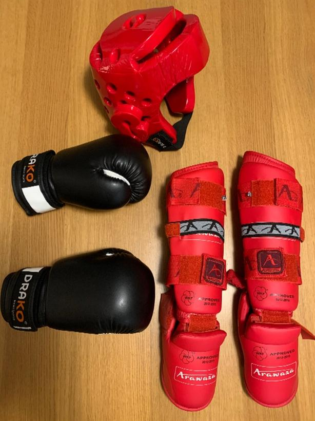 Child sized sparring kit