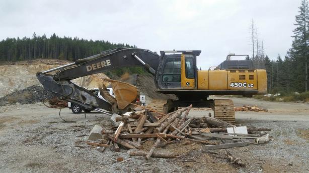 John Deere 450C LC Excavator Parts