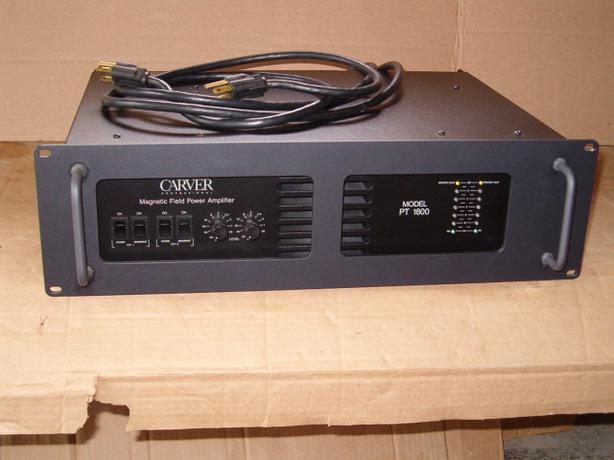 Amplifier Carver PT-1800,  1100 Watts / CH