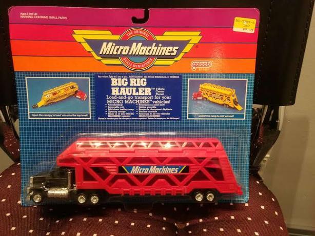 Micro Machines Big Rig Hauler Car Transport (1988)