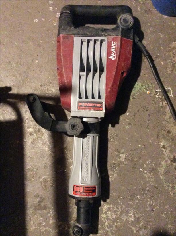 Powertek G80 Demolition Hammer