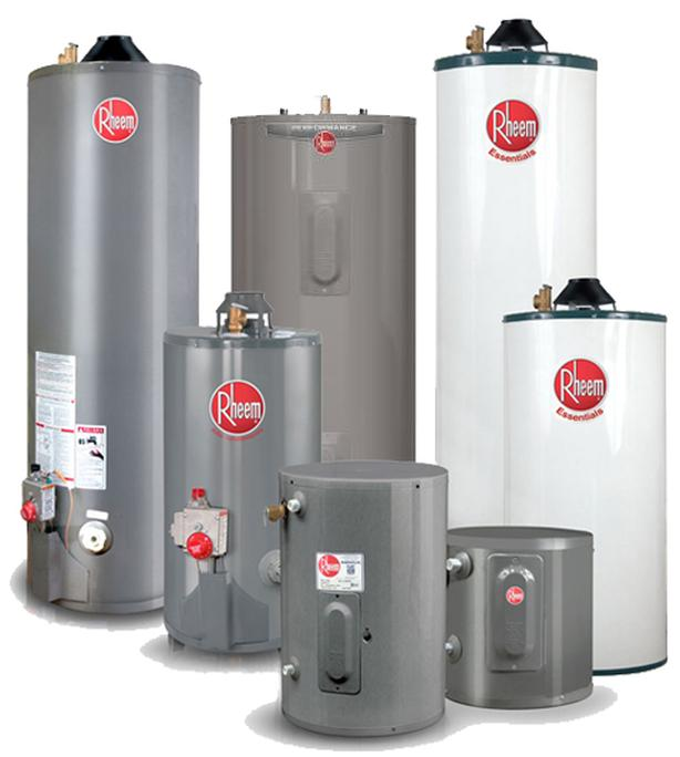 Water Heater Rental - FREE installation - Reduced Rental Rates