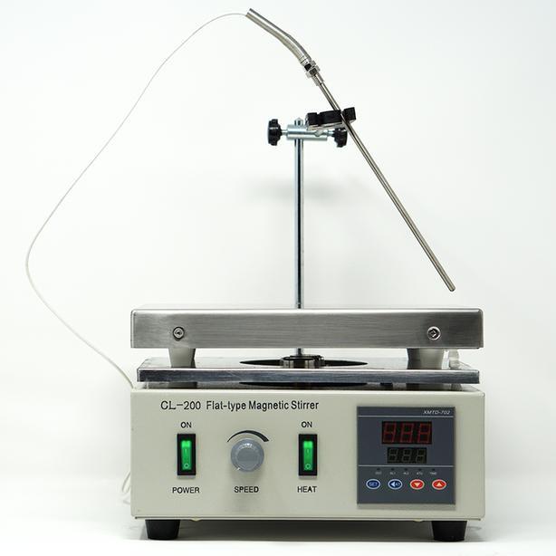 Flat Type Digital Magnetic Stirrer Heating Hot Plate Set | 100 – 1250 RPM | 299