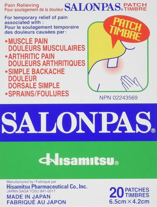 SALONPAS Pain Relieving Patch (20 patches)