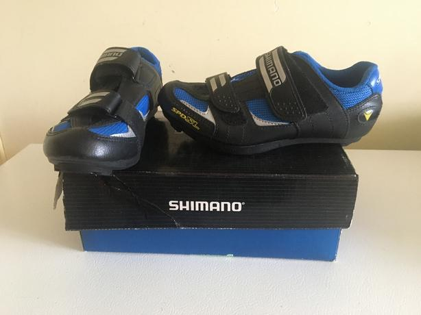 Shimano Road Shoes  Ladies and Mens 2 pairs for sale