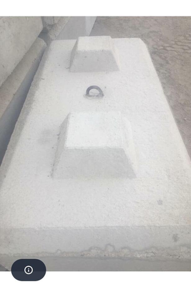 Concrete stacking LEGO blocks