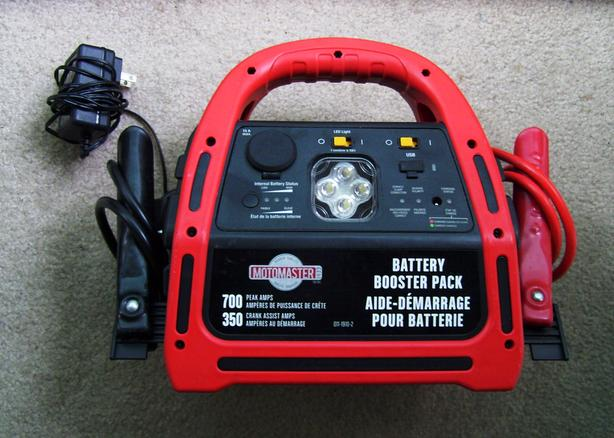MotoMaster Battery Booster Pack – Parts Only