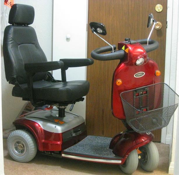 Shoprider 'Cobra' Mobility Scooter
