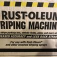 Rustoleum Professional Line and Sports Field Striping Machine - New
