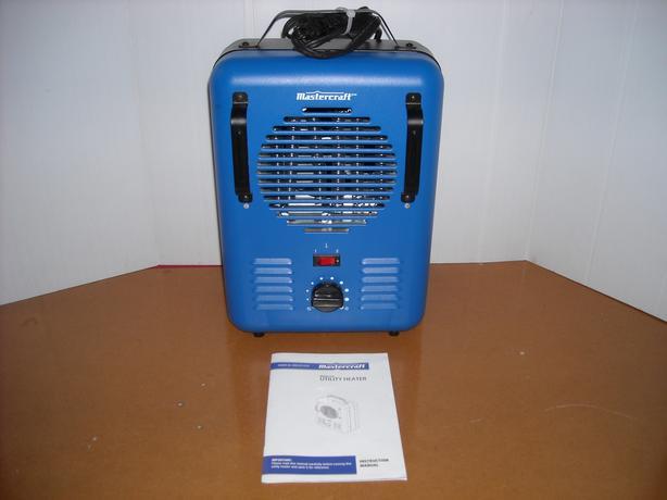 Mastercraft Milkhouse Utility Heater, Blue