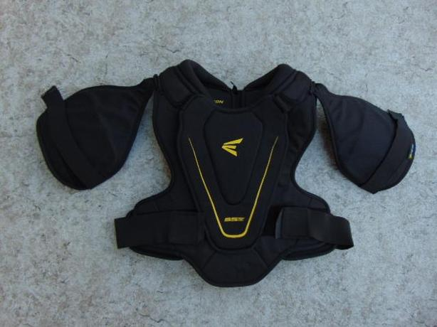 Hockey Shoulder Chest Pad Men's Size Medium Easton Black Yellow