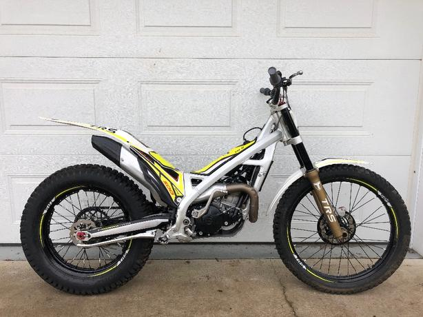 2016 TRS 300cc trials motorcycle