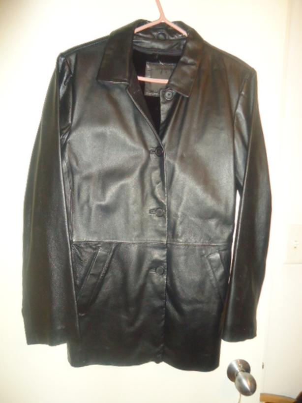 Women's Leather Winter Coat - NEW CLEAN PERFECT CONDITION