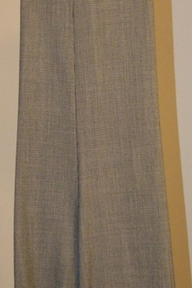 Vintage Checker Pattern Dress Pants