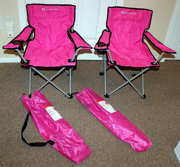 Outbound Kid's Folding Chairs (2)