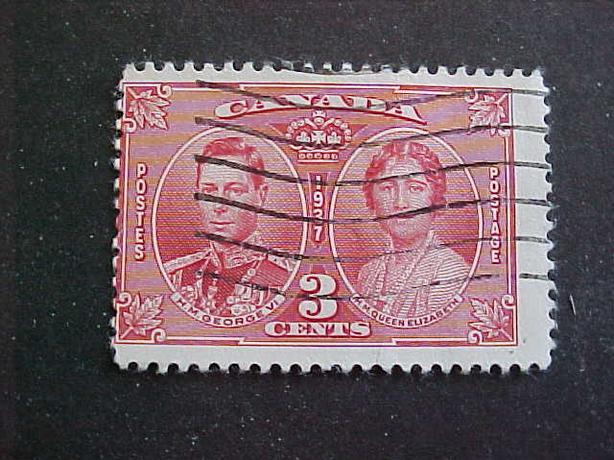 SCOTT 237 MISPERFORATED KING GEORGE VI CORONATION