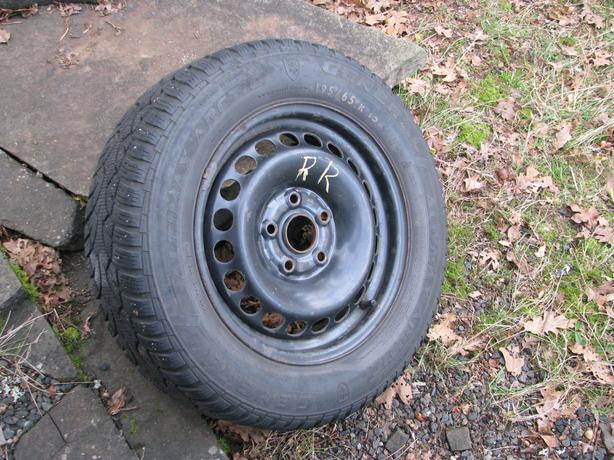 Altimax mounted & balanced snow tires