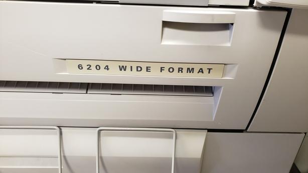 Xerox 6204 Wide Format Laser Printer