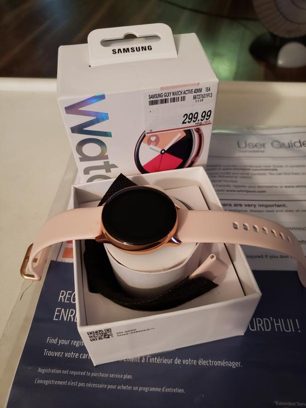 NIB Galaxy Watch Active