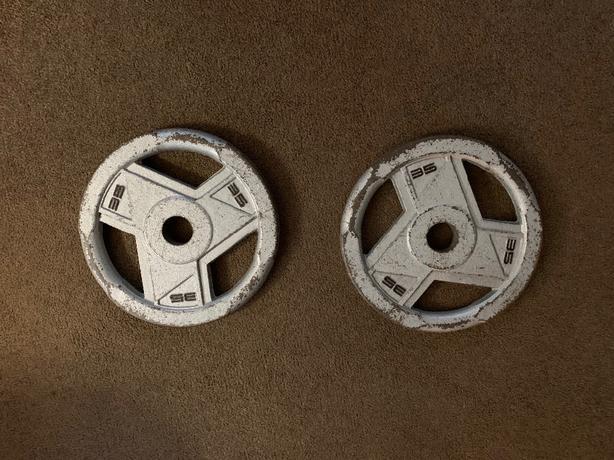 Professional Grade Hammertone Olympic Barbell Plates
