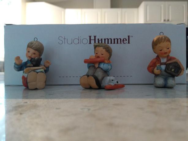 Studio Hummel Christmas Figures