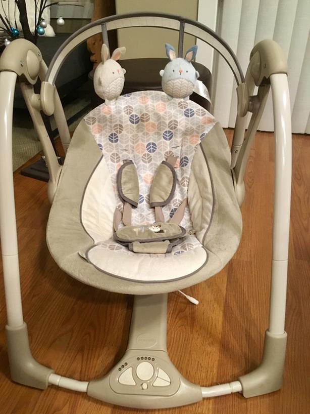 INGENUITY PORTABLE BABY SWING