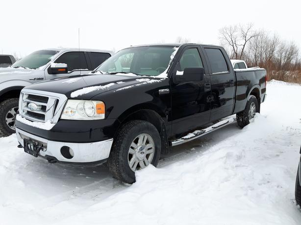 2008 Ford F-150 SuperCrew XLT XTR **  AS IS ** WHOLESALE 9X038C
