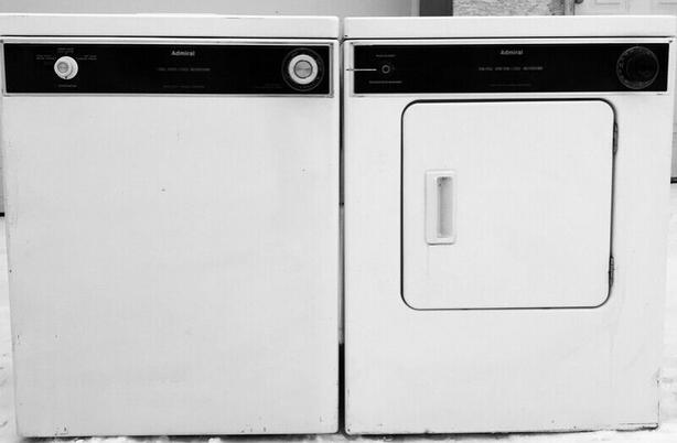 Admiral Compact Washer & Dryer Set
